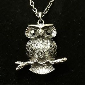 Jewelry - 3/$20 Owl Necklace